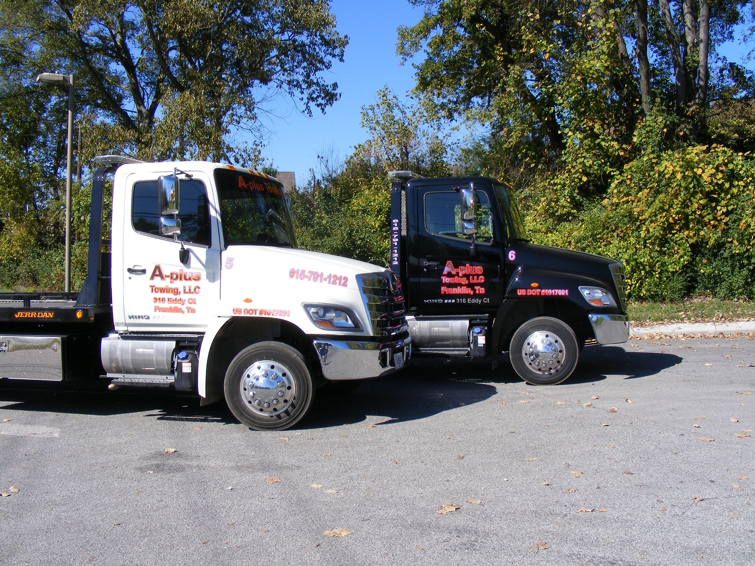 a-plus-towing-truck-logo-a